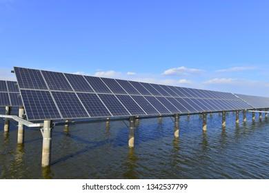 Solar panels green energy