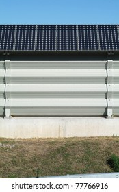 solar panels implant on southern switzerland
