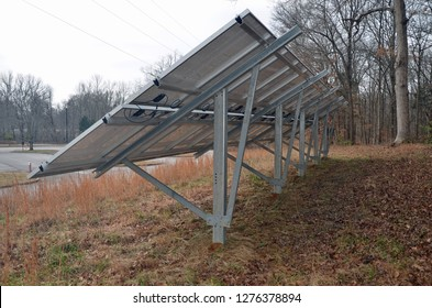 Solar panels at Mammoth Cave National Park are part of the Green Parks Plan for parks to be more sustainable and serve as models for showcasing and interpreting the best environmental practices.
