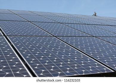 Solar Panels & Mountains