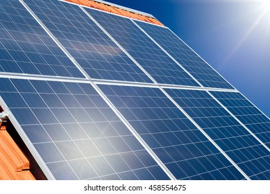 Rooftop Solar Panels Images Stock Photos Amp Vectors