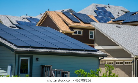 Solar Panels on Every Rooftop to provide clean renewable energy to every household in America to help fight climate change and the fossil fuel industry