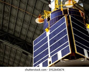 Solar Panels on a Satellite