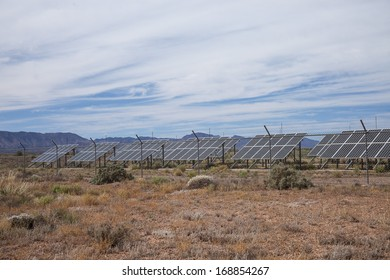Solar panels in the Outback