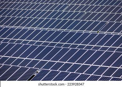 solar panels, symbol photo for alternative energy and sustainability