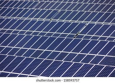 solar panels, symbolic photo for alternative energy and sustainability