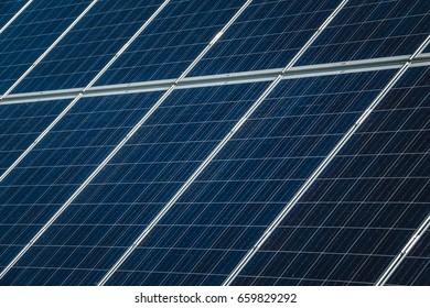 Solar Panels using renewable solar energy. Green Energy. Future Energy.