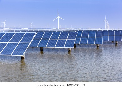Solar photovoltaic power generation facilities