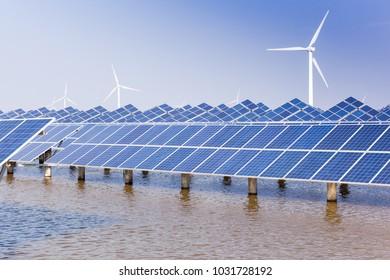 Solar photovoltaic power generation facilities