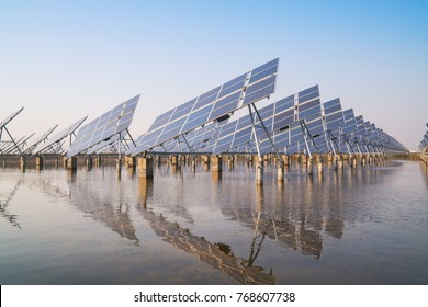 Solar power generation in China