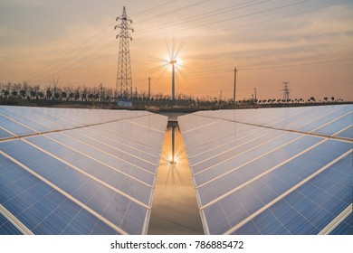 Solar power generation in China