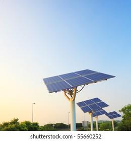 solar power panel array