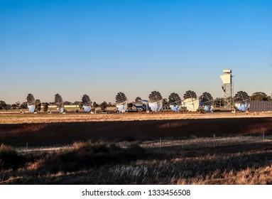 Solar power plant. Austrlia. Victoria
