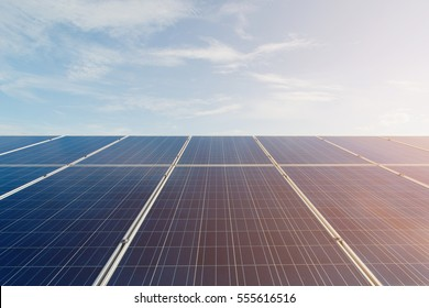 solar power plant to innovation of green energy for life