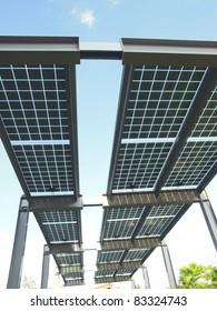 Solar power plant  in park