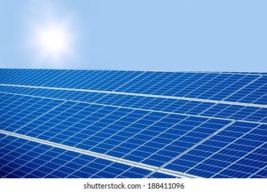 SOLAR POWER PLANT PRODUCING GREEN ENERGY
