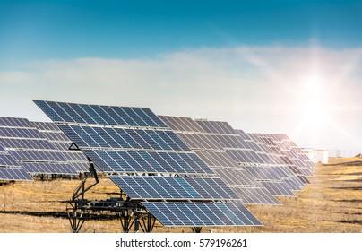 Solar power plant in Spain