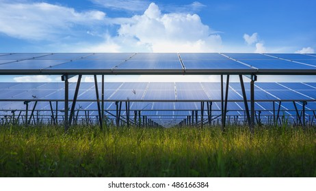 Solar power station clean technology