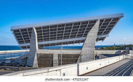 Solar Power Station at Forum area. This area held the 2004 Universal Forum of Cultures.