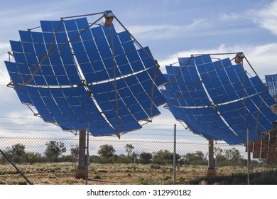 Solar power supply for Windorah, Central Queensland, Australia.