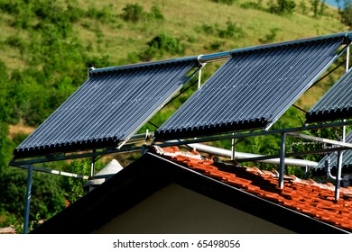 Solar Power from two sun panels