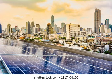 Solar PV Rooftop Power Plant In Bangkok Thailand