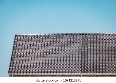 Solar Roof Tile is the first preengineered single PV rooftop unit.Sun enegergy in roof tiles