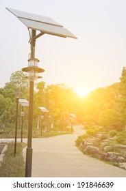 solar streetlamp