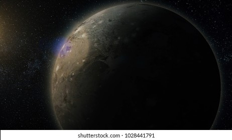 Solar system named in english. Europe the moon of Jupiter