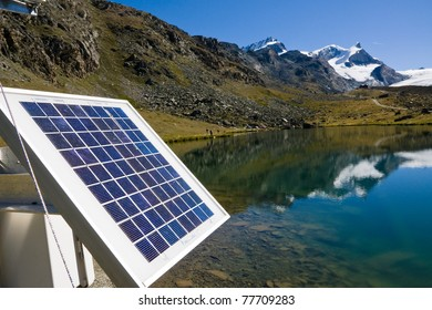 Solar technology in the swiss alps