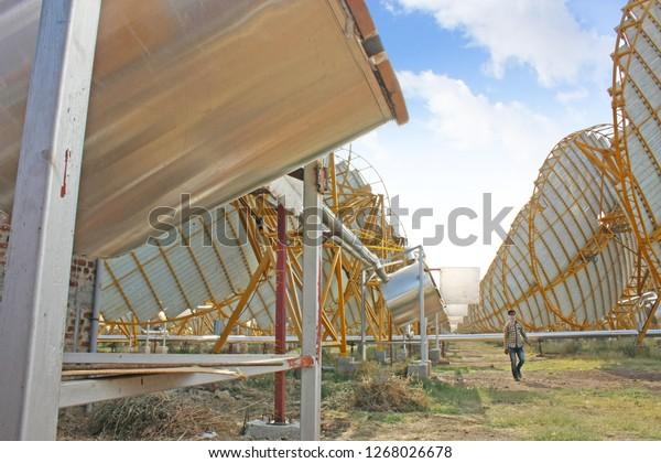 Solar Thermal Power Plant India Solar Stock Photo (Edit Now