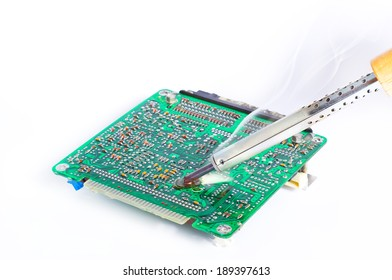 Soldering and repair of the electronic engine control unit