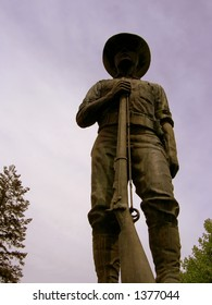 Soldier Statue from the Spanish American War