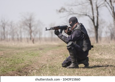 Soldiers from the elite police unit are training in terrorism and terrorists