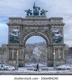 Soldiers' and Sailors' Arch at Grand Army Plaza, Brooklyn, New York City
