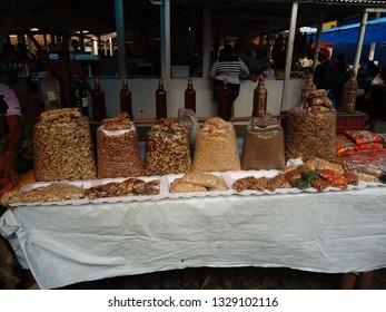 Soledade, Paraíba/Brazil - March 4, 2019: typical northeast Brazilian market