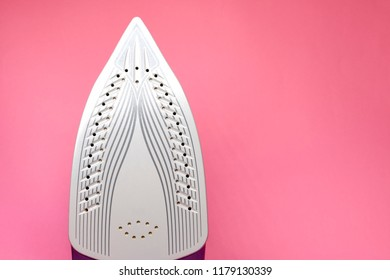 the soleplate of an electric iron