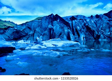 solheimajokull is an outlet glacier of the icecap of Myrdalsjokull, on the South coast of Iceland.