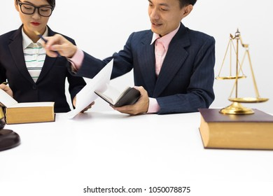 Solicitor and public prosecutor reviewed the defamation document of the legal entity and the misappropriation document.