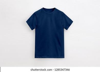 Solid Basic T-Shirt deep navy Man unbranded