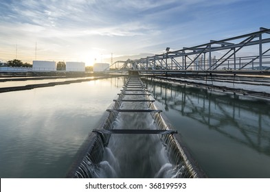 The Solid Contact Clarifier Tank type Sludge Recirculation with sunrise