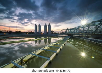 The Solid Contact Clarifier Tank type Sludge Recirculation process in Water Treatment plant