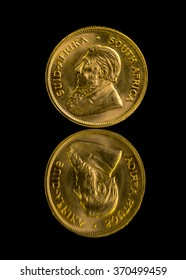 Solid Gold coin from South Africa