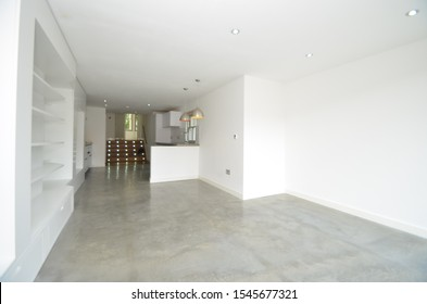 Solid Polished Concrete Worktop and Solid Polished Concrete Flooring