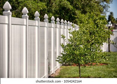 Solid Privacy Vinyl Fence