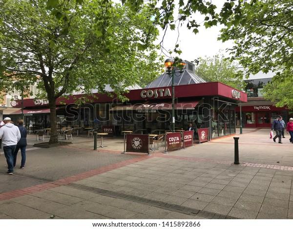Solihull West Midlands Birmingham June 2019 Stock Photo