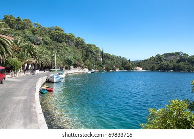 Soline bay, national park Mljet, Croatia