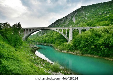 Solkan Bridge is World largest stone bridge