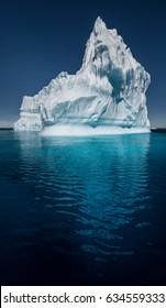 Solo Iceberg in Antarctica