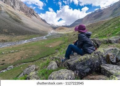 Solo Traveler in Chitkul Trek, Himachal